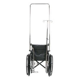 Wheelchair Accessories :: Medline :: I.V. POLE FOR WHEEL CHAIR