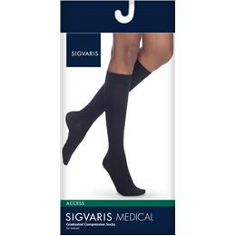 Image of SIGVARIS Access 30-40mmHg - Size: LL - Color: BLACK