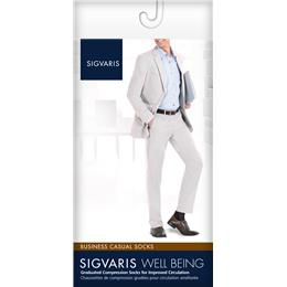 Image of SIGVARIS Business Casual 15-20mmHg - Size: B - Color: BLACK