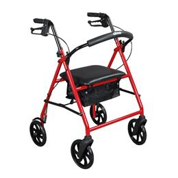 "Drive Medical :: Steel Walker Rollator with 8"" Wheels"
