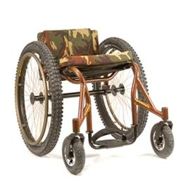 Wheelchairs :: Invacare :: Top End Crossfire All Terrain Wheelchair