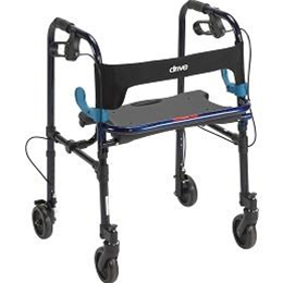 "Drive :: Clever-Lite Walker, Adult, with 5"" Casters"