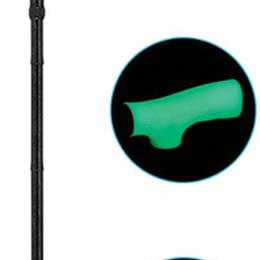 Drive Medical :: Folding Alum Cane w/ Glow Grip Handle & Tip  Tie-Dye