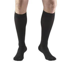 Image of 8865 TRUFORM Classic Compression Ladies' Below Knee, Closed Toe, Stay-Up, Stocking 3