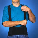 Action Belt Orthopedic Lower Back Support - 
