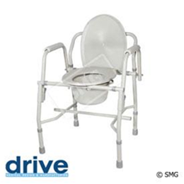 Drive :: K.D. Deluxe Steel Drop-Arm Commode