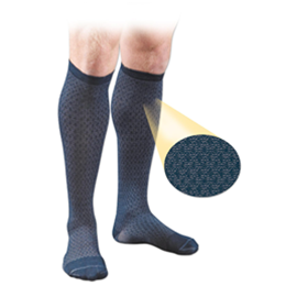 FLA Orthopedics Inc. :: Activa® Men's Patterned Casual Socks 15-20 mm Hg Lite Support
