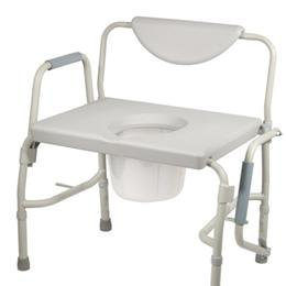 Commode, Bariatric Drop-Arm - Image Number 15780