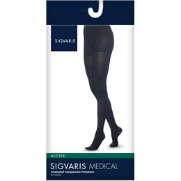 Image of SIGVARIS Access 30-40mmHg - Size: MS - Color: BLACK