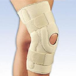 FLA Orthopedics Inc. :: Neoprene Stabilizing Knee Brace with Composite Hinges