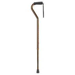 Image of Adjustable Offset Handle Aluminum Cane 2