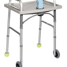 Drive Medical :: Universal Walker Tray with Cup Holder  Grey  Drive
