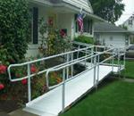EZ Access Modular Ramps - The EZ-Access EZ-Install modular wheelchair ramps comply with AD