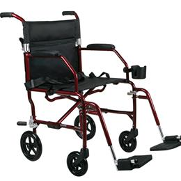 Medline :: Ultralight Transport Wheelchair