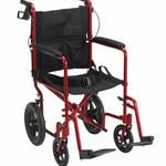 Lightweight Expedition Transport Wheelchair With Hand Brakes - Product Description</SPAN