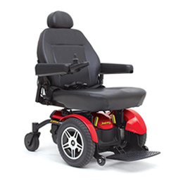 Pride Mobility Products :: Jazzy Elite HD Power Wheelchair
