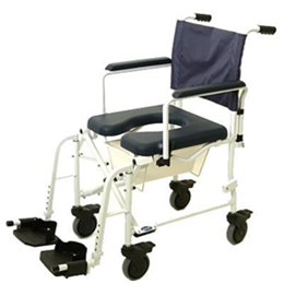 "Invacare :: Invacare Mariner Rehab Shower Chair - 5"" Casters"