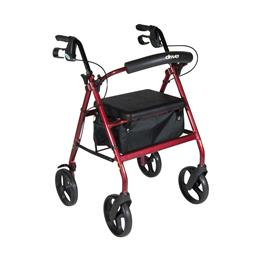 Drive Medical :: Aluminum Rollator with Removable Wheels