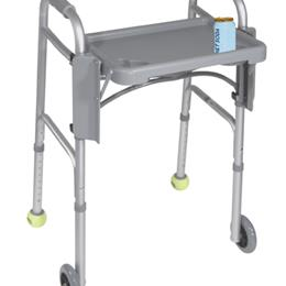 Drive Medical :: Walker Folding Flip Tray