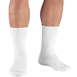 Airway Surgical :: 1915 TRUFORM Diabetic Crew Length Dress Socks