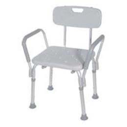 Bath Bench with Padded Arms and Back - Image Number 18113