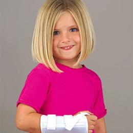 FLA Orthopedics Inc. :: Microban® Wrist Splint - Youth/Pediatric