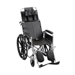 "Nova Medical Products :: 20"" RECLINING WHEELCHAIR - 6200S"