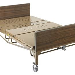 "Image of Full Electric Bariatric Hospital Bed, 48"" 2"