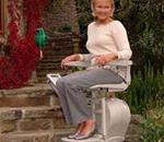 Acorn Superglide Outdoor Stair Lift - The outdoor stair lift has all the safety and comfort features o