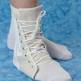 "SUPPORT ANKLE CANVAS LACE-UP LG 11-13"" - Canvas Lace-Up Ankle Support: Made Of High Quality Canvas Outer"