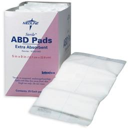 "Image of PAD ABDOMINAL 8"" X 10"" STERILE"