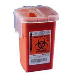 Kendall :: DISPOSABLE SHARPS CONTAINER