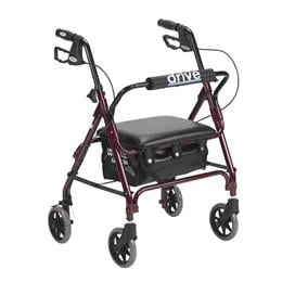 Drive Medical :: Junior Rollator with Padded Seat