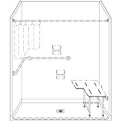Image of Barrier Free Shower 4LSS6331A75BCG