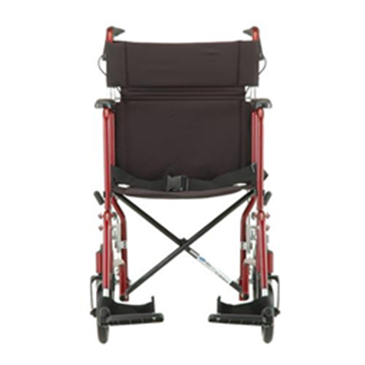 Image of 19 inch Transport Chair with 12 inch Rear Wheels - 330 3