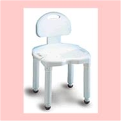 Image of Universal Bath Bench with Back 2