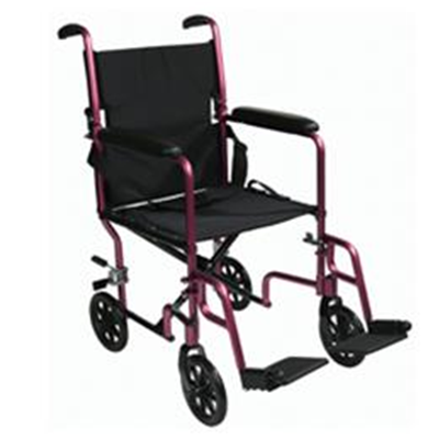 Image of Aluminum Transport Chair