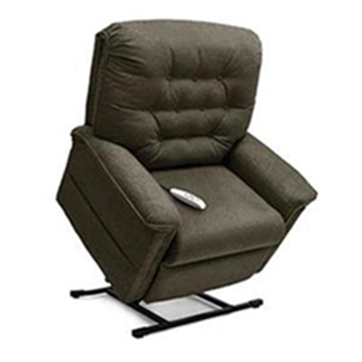 Image of Heritage Collection, 3-Position Full Recline, Chaise Lounger Lift Chair, LC 358 2
