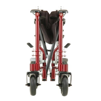 Image of 19 inch Transport Chair with 12 inch Rear Wheels - 330 5