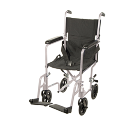 Image of Drive Aluminum Transport Chair 19""