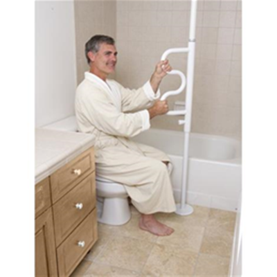 Image of SECURITY POLE & CURVE GRAB BAR