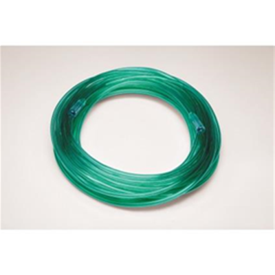 Green Visible Medical Oxygen Tubing 25 Feet :: Image Number 32254