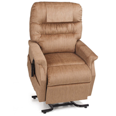 Image of Monarch w/Chaise - Medium 3 Position Lift/recliner 2