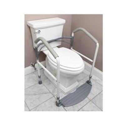 Image of Buckingham Foldeasy Toilet Safety Frame