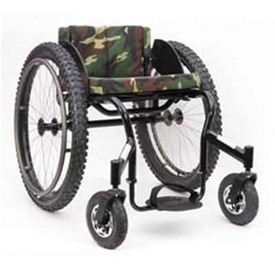 Image of Invacare Top End Crossfire All Terrain Wheelchair 1