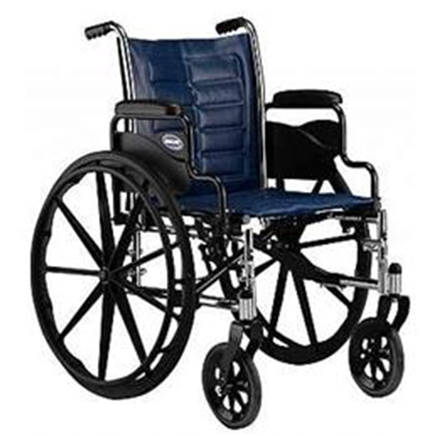 "Image of Invacare Tracer EX2 Wheelchair with Removable Desk-Length Arms, 18"" x 16"""