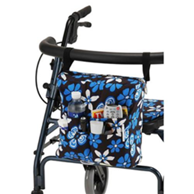 Image of Hanging Walker Pouch Aloha Blue 2