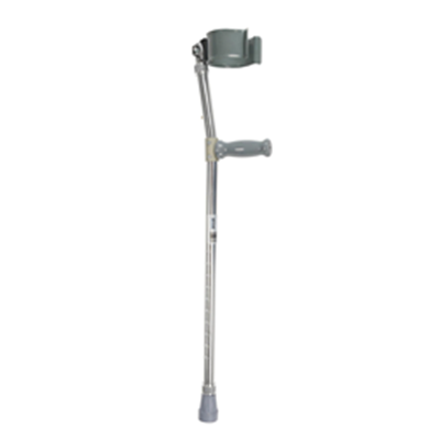 Image of Bariatric Steel Forearm Crutch 2