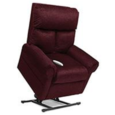 Image of Elegance Collection, 3 Position, Full Recline, Chaise Lounger Lift Chair, LC-450