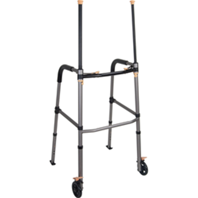 Image of Lift Walker With Retractable Stand Assist Bars 3